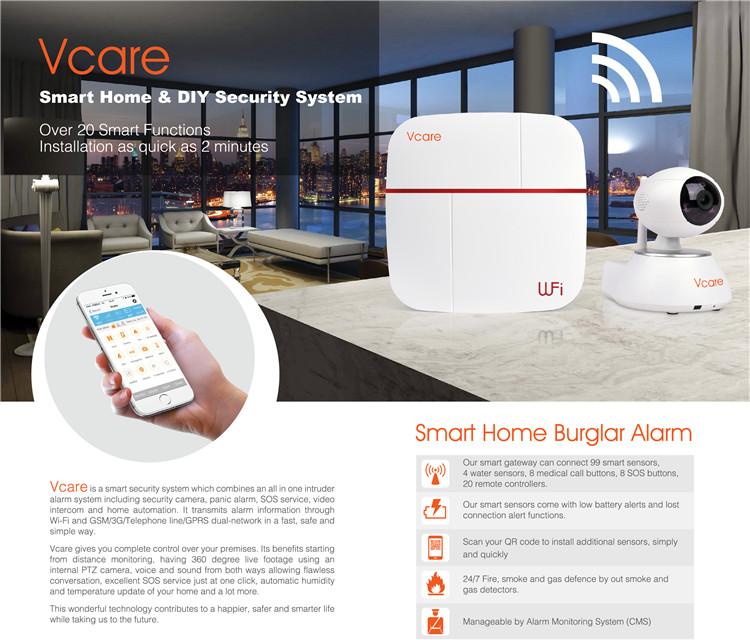 Vcare Smart Wifi Alarm