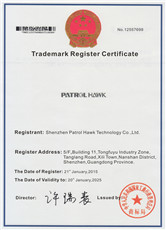Trademark Register Certificate